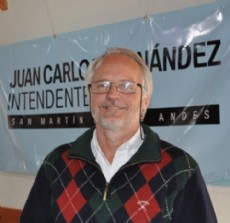 Juan Fern�ndez, jefe comunal de San Mart�n de los Andes.